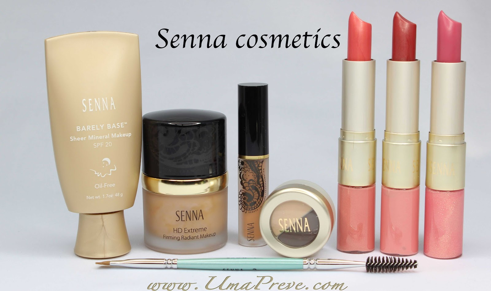 Senna Cosmetics Review And Swatches