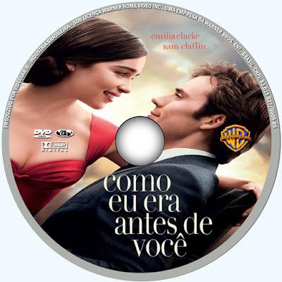Label DVD Como Eu Era Antes De Você
