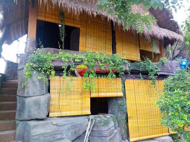 Rèm tre trúc được làm từ thiên nhiên nên sẽ tạo cho khách nghỉ dưỡng một tinh thần thoải mái không khí trong lành