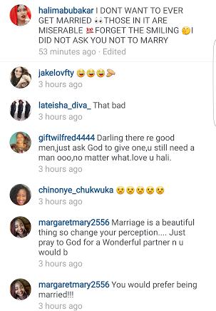 halima abubakar marriage