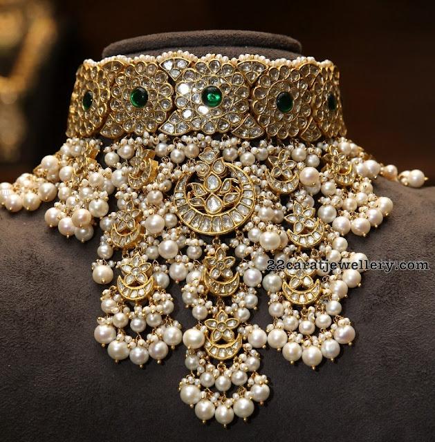 Kundan Choker by Karan Johar AK Jewellers