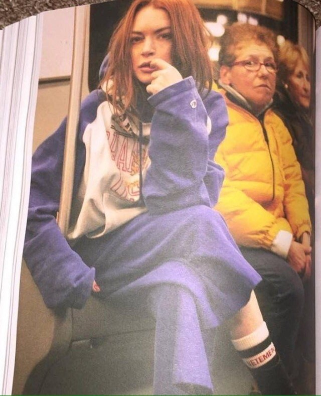 Lindsay Lohan in a new photo shoo