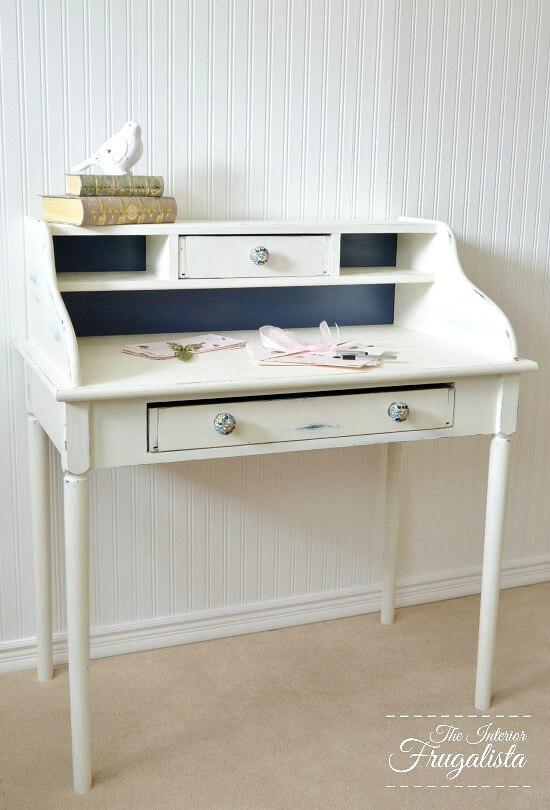 9 Creative Desk Makeovers - Curbside Secretary Desk