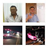 Morreu a 2ª vítima do acidente na BR 104 em Cuité, ocorrido nesta segunda