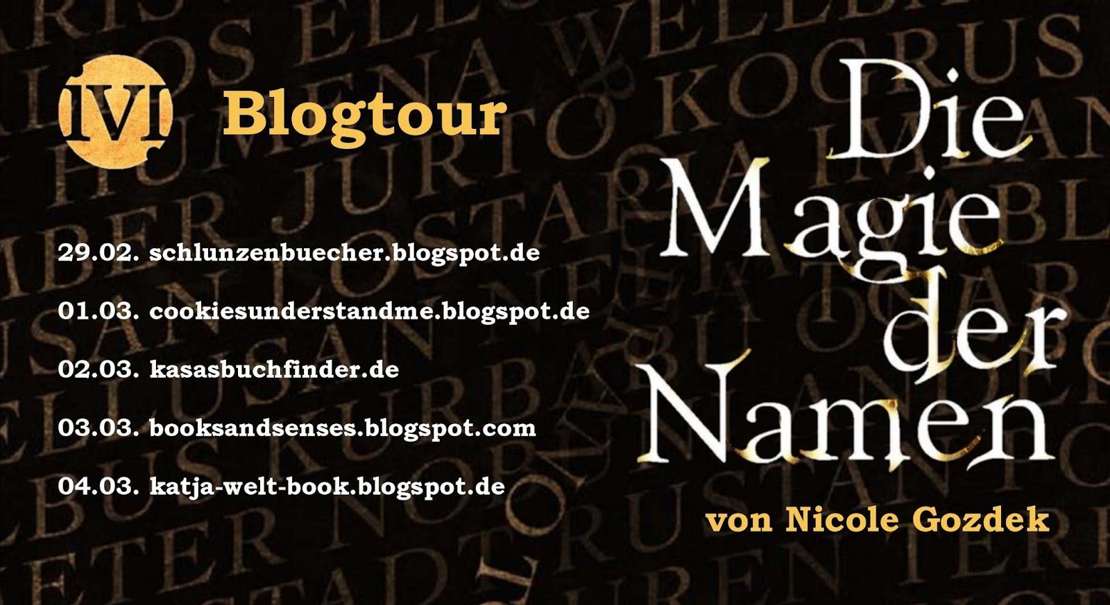 Blogtour Die Magie Der Namen Von Nicole Gozdek Bedeutung Von