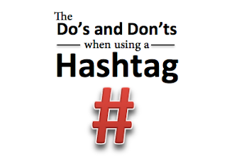 The do's and don'ts when using a hashtag