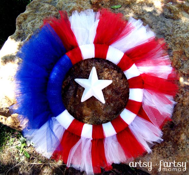 4th Of July Wreath Artsy Fartsy Mama
