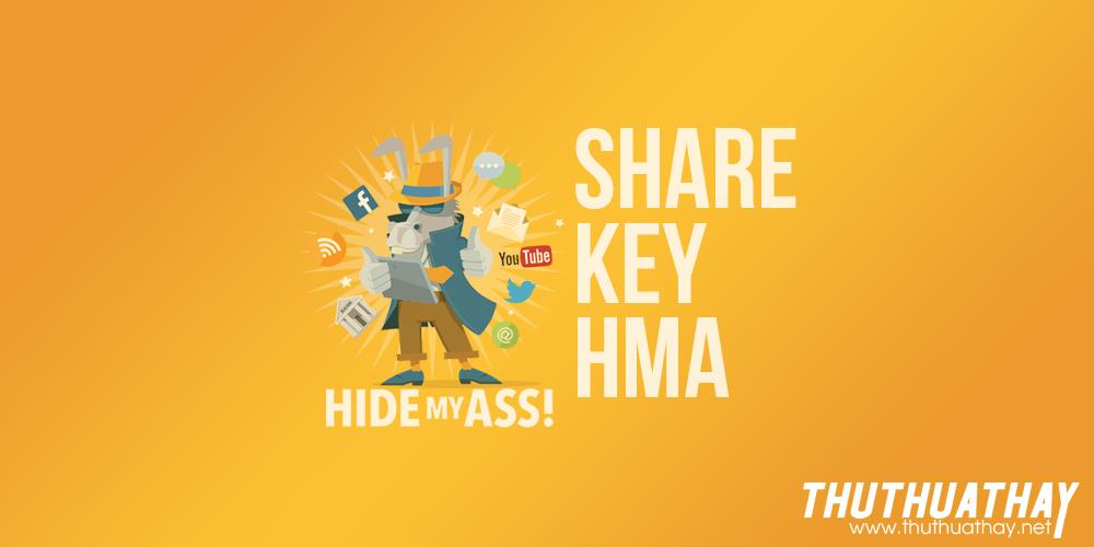 Share key hma 2018