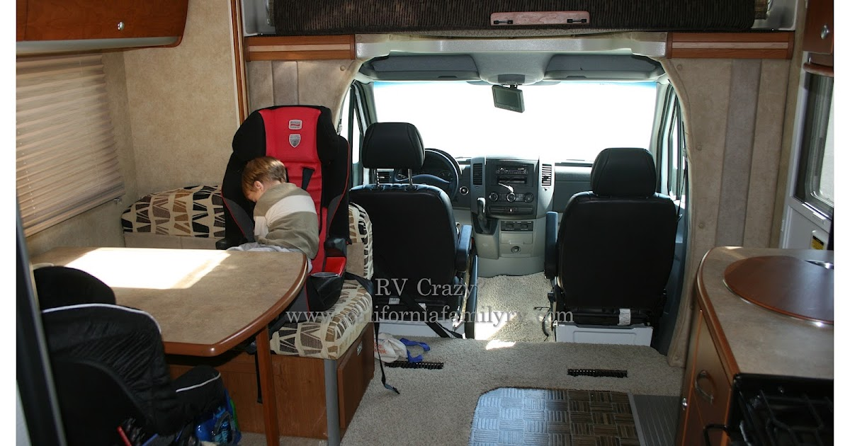 Rv Crazy Car Seats In An Rv