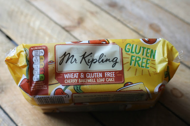 Mr Kipling Wheat & Gluten Free Cherry Bakewell Loaf | Anyonita-Nibbles