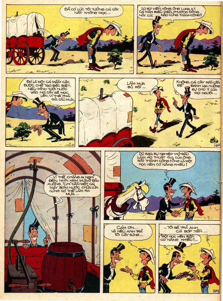 Lucky Luke tap 1 - ban tay nham trang 41