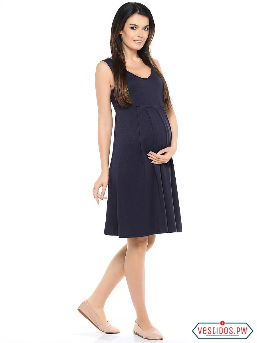 f90a8350e Mas de 65 Ideas de Vestidos para Embarazadas ¡Modernos y SUPER ...