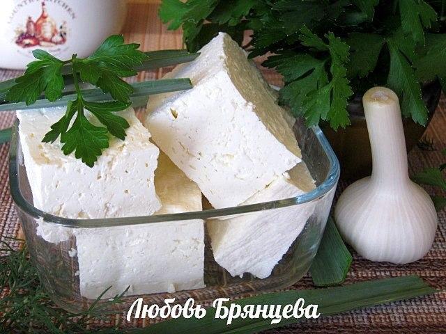 приготовить рассольный сыр в домашних условиях