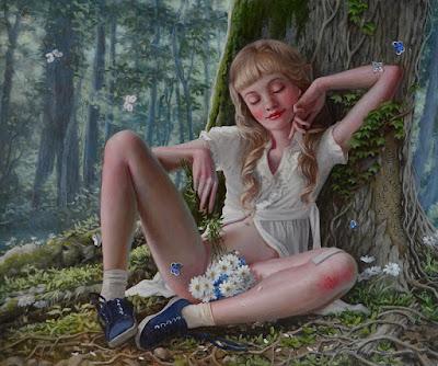 arte-erotico-pintura-retratos-de-adolescentes-ana-brike