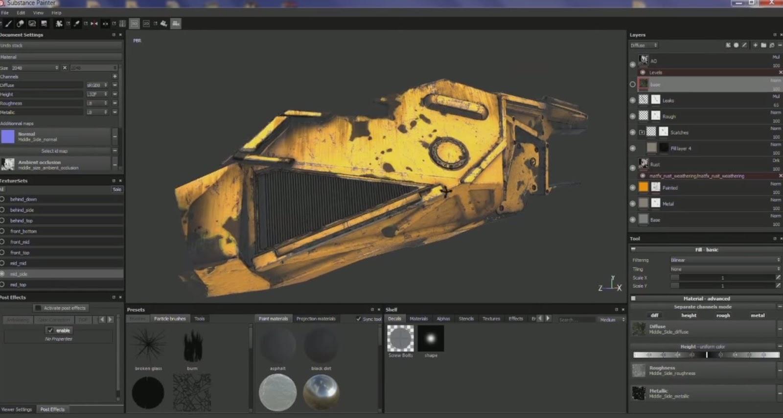 Allegorithmic Substance Painter for UE4 Plugin Overview | CG TUTORIAL