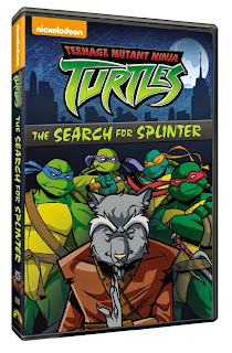 DVD Review: Teenage Mutant Ninja Turtles: The Search For Splinter