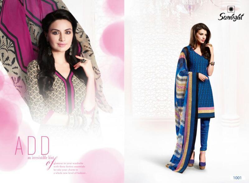 Sunlight – Buy New Online Crepe Dress Material Buy Online