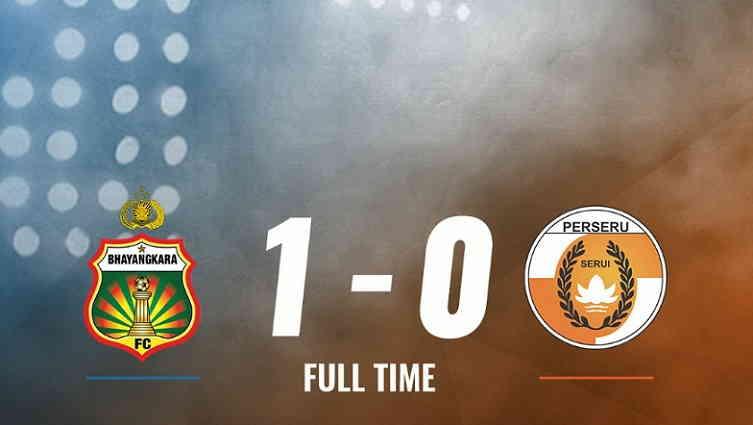 Hasil Bhayangkara FC vs Perseru Serui Skor Akhir 1-0 | Liga 1 Pekan 21