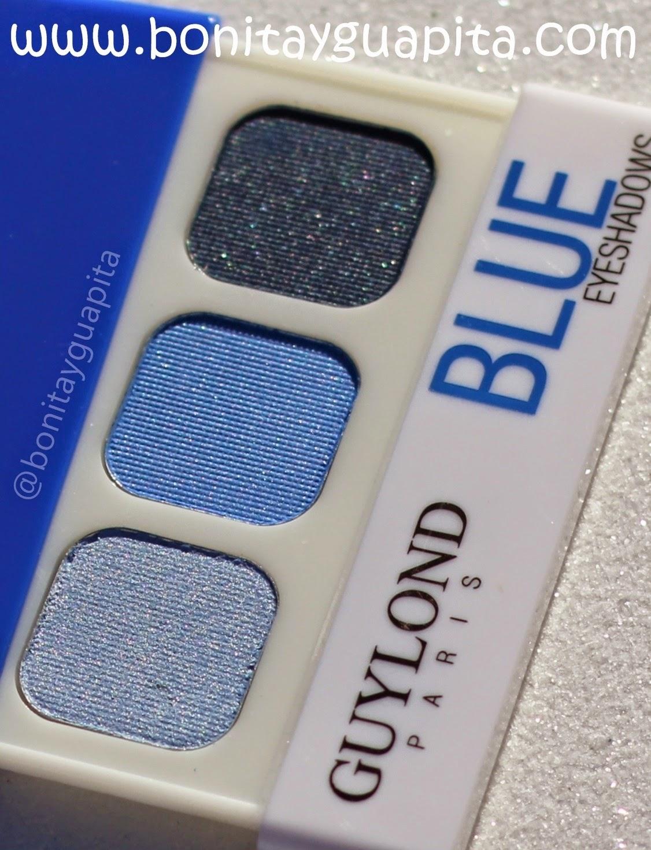 sombras de ojos guylond paris blue