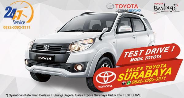 Info Test Drive Toyota Rush Surabaya