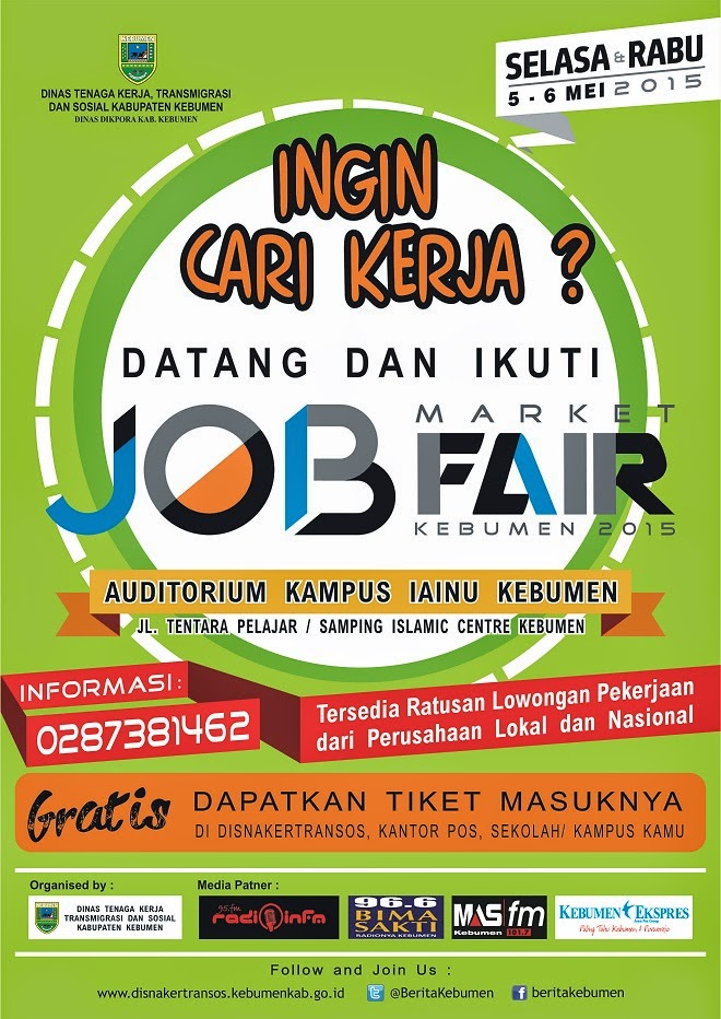 Job Market Fair Kebumen Kampus IAINU