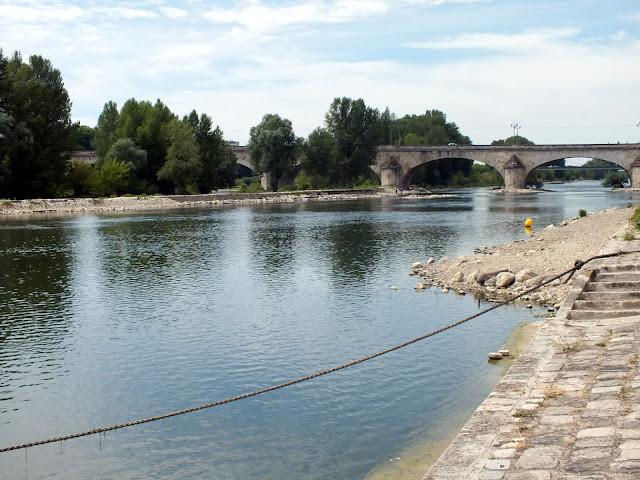 río Loira por Orléans