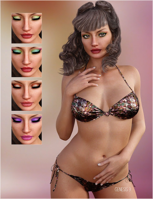 BD Jaiyana For Genesis 3 / 8 Female