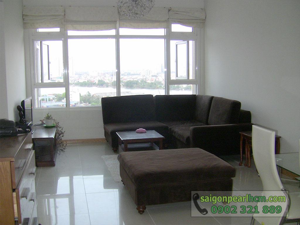 Cho thuê Saigon Pearl tòa Ruby 2 diện tích 86m2 nội thất nhập cao cấp - 3
