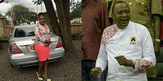 Uhuru's designer Shirt - Carol Pulei