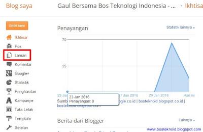 Cara Membuat Halaman Arsip Blog Berdasarkan Tanggal di Blogspot