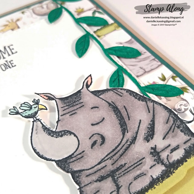 Stampin' Up! Animal Outing Bundle, Animal expedition DSP