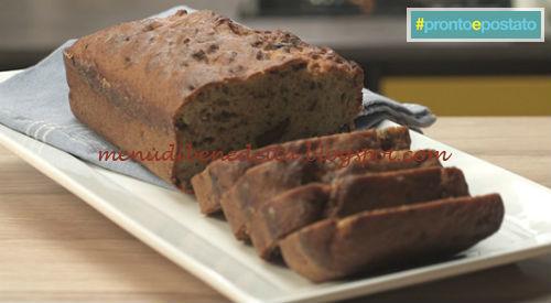 Pronto e postato - Banana bread ricetta Benedetta Parodi
