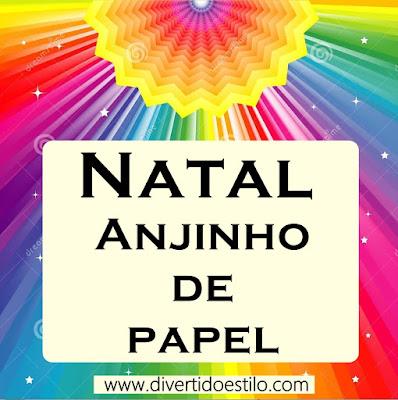 anjo de papel