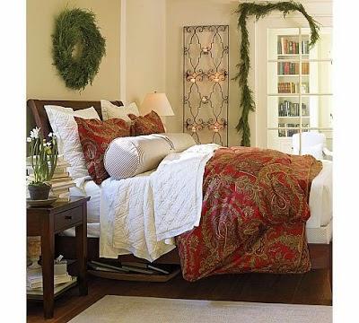 dormitorio tema navidad