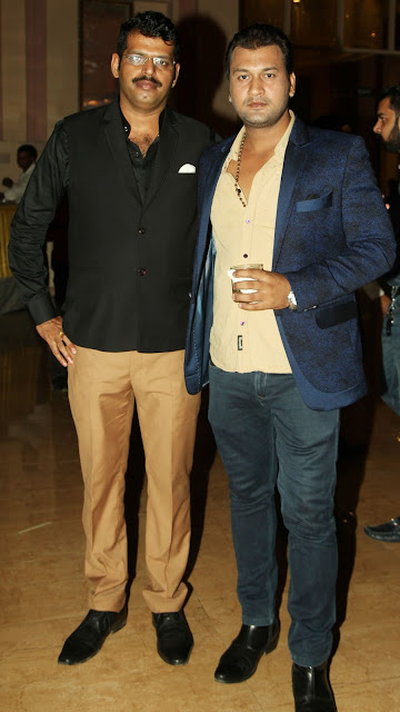 Nikesh Kaushik with Nair Kumar