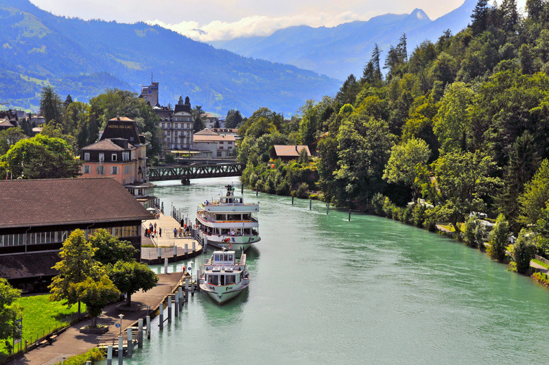 Cidadezinhas lindas Interlaken Suíça