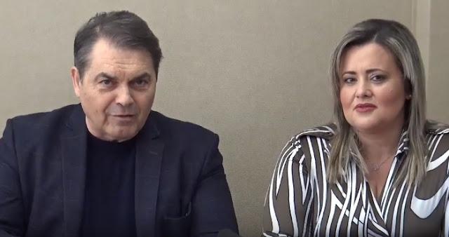 """Η Τζίνα Πολίτη υποψηφία με τον συνδυασμό """"Αλλαγή Πορείας Δημήτρης Καμπόσος"""" (βίντεο)"""