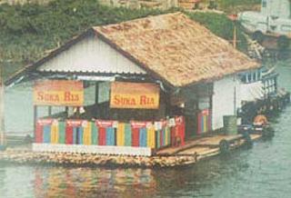 Rumah Rakit Bangka Belitung