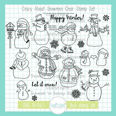 http://www.sweetnsassystamps.com/11th-birthday-throwback-crazy-about-snowmen-clear-stamp-set/