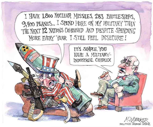 Uncle Sam says to shrink,