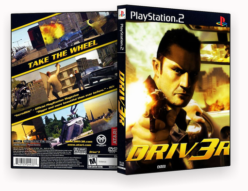 JOGO – Driver 3 ps2 – ISO
