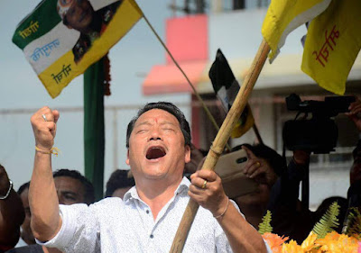 Bimal Gurung GJM chief
