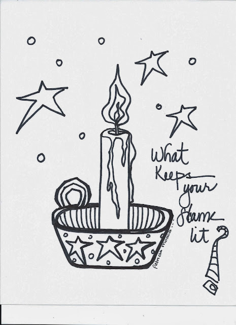 The Creative Playground: Flame...coloring book page