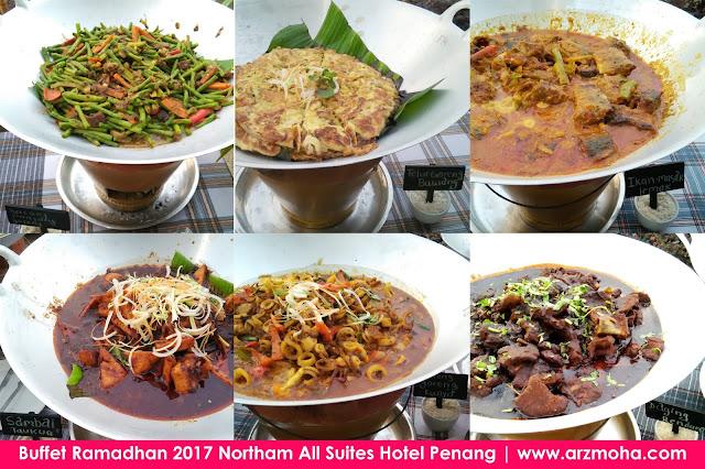 Buffet Ramadhan 2017 Northam All Suites Hotel Penang, lauk masakan kampung di buffet ramadhan northam hotel, buffet ramadhan di penang 2017, harga buffet ramadhan di northam hotel penang, tempat berbuka puasa di penang, buffet ramadhan 2017, buffet ramadhan penang,