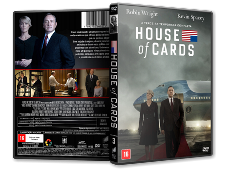 House of Cards - 3ª Temporada Completa