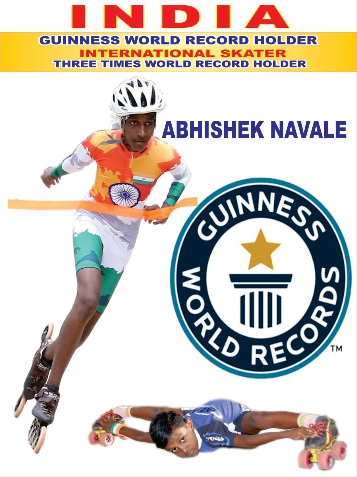 THREE TIMES WORLD RECORD HOLDER: June 2018