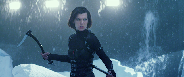 Milla Jovovich in RESIDENT EVIL: RETRIBUTION