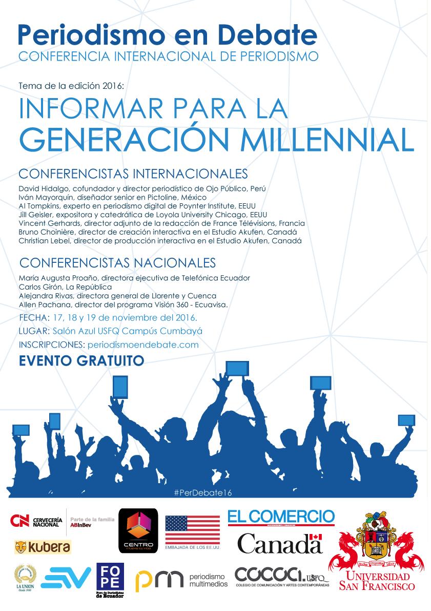 Periodismo en Debate, Conferencia Internacional de Periodismo