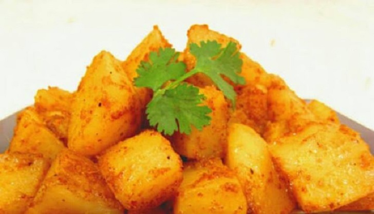 CURRIED POTATOES
