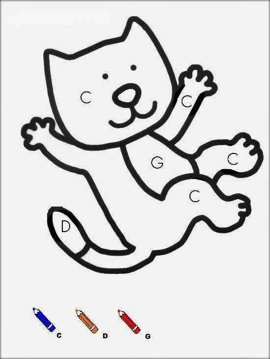 chat coloriages magiques maternelle cat